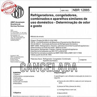 NBR12885 de 04/1993