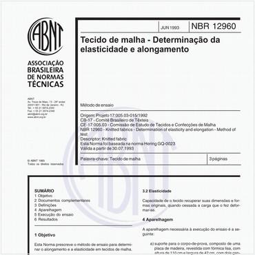 NBR12960 de 06/1993