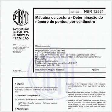 NBR12961 de 06/1993