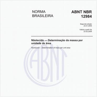 NBR12984 de 01/2009