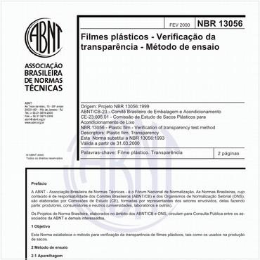 NBR13056 de 02/2000