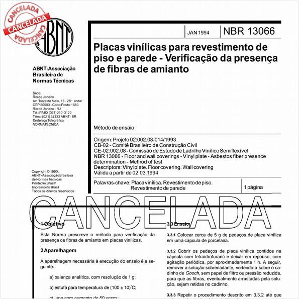 NBR13066 de 04/2006