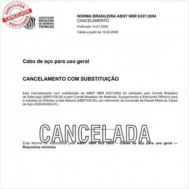 NBR6327 de 05/2004