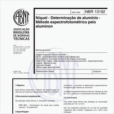 NBR13192 de 08/1994