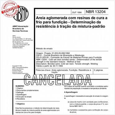NBR13204 de 10/1994