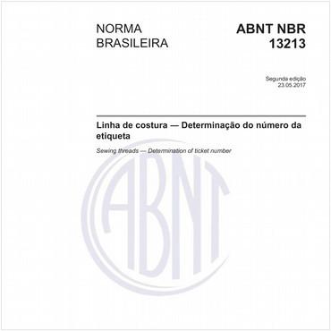 NBR13213 de 05/2017