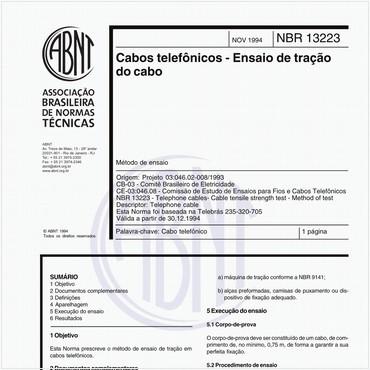 NBR13223 de 11/1994
