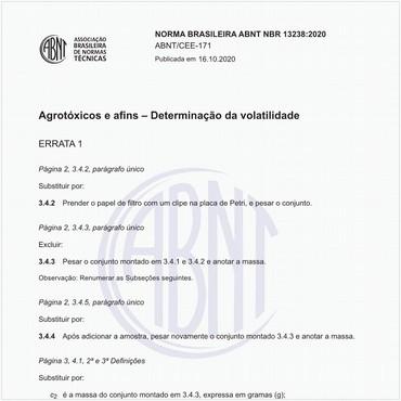 NBR13238 de 03/2020