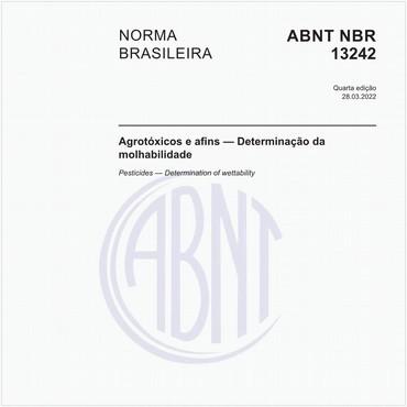 NBR13242 de 03/2014