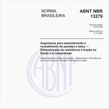 NBR13279 de 09/2005