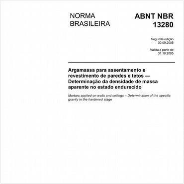 NBR13280 de 09/2005