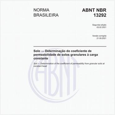 NBR13292 de 02/2021
