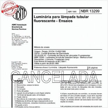 NBR13299 de 04/1995