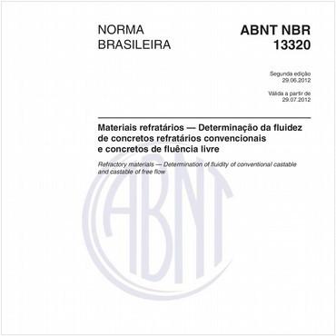 NBR13320 de 06/2012