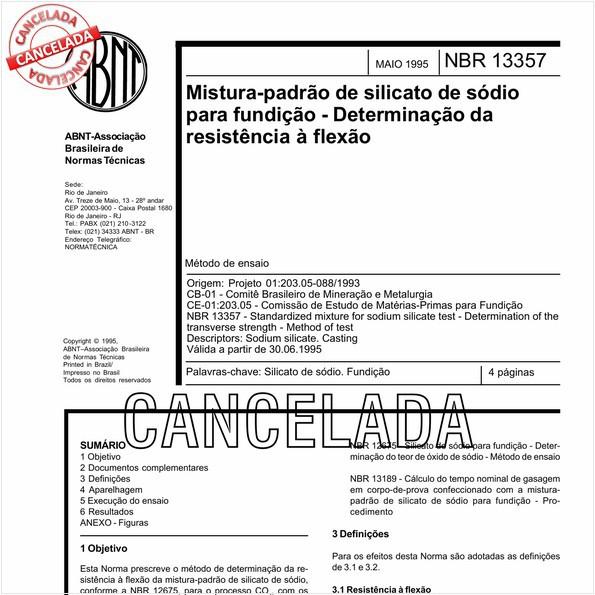 NBR13357 de 05/2011