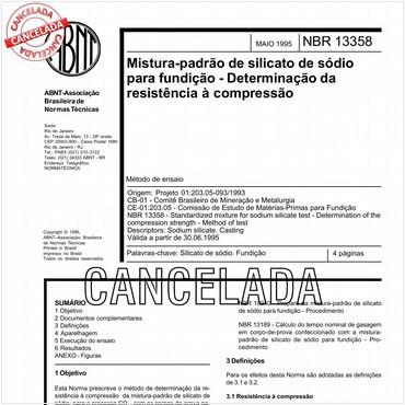 NBR13358 de 05/1995