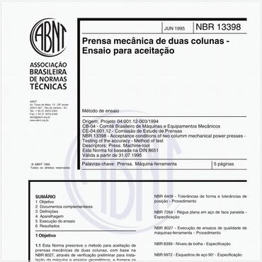 NBR13398 de 06/1995