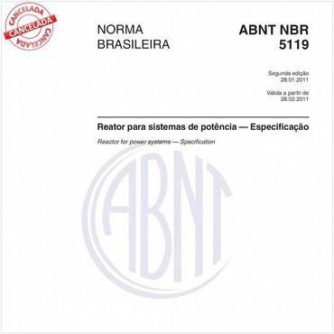 NBR5119 de 01/2011