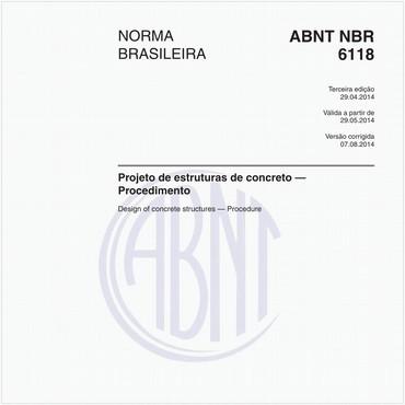 NBR6118 de 04/2014