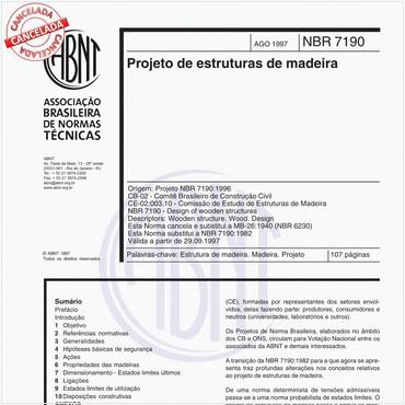 NBR7190 de 08/1997