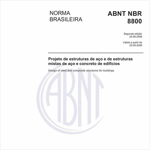 NBR8800 de 08/2008