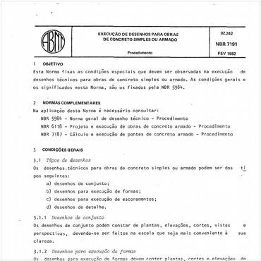 NBR7191 de 02/1982