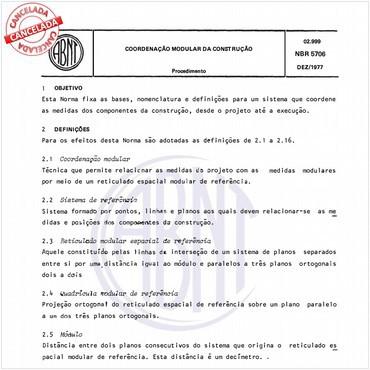 NBR5706 de 12/1977