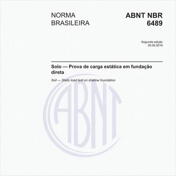 NBR6489 de 09/2019