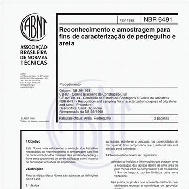 NBR6491 de 02/1985