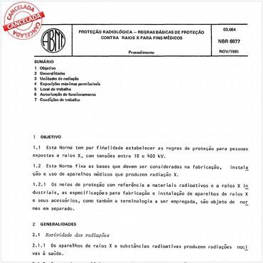 NBR6977 de 11/1981