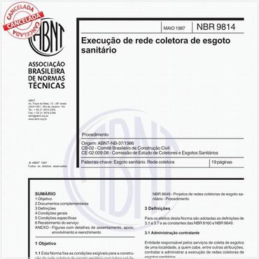 NBR9814 de 05/1987