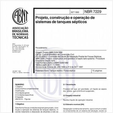 NBR7229 de 09/1993