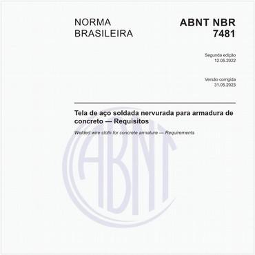 NBR7481 de 03/1990
