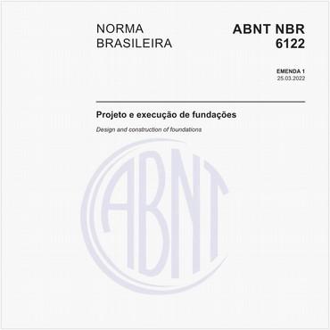 NBR6122 de 09/2019