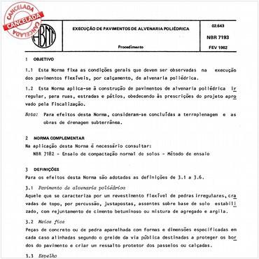 NBR7193 de 02/1982