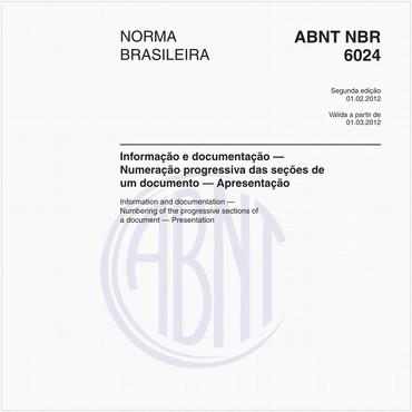 NBR6024 de 02/2012