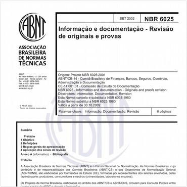 NBR6025 de 09/2002