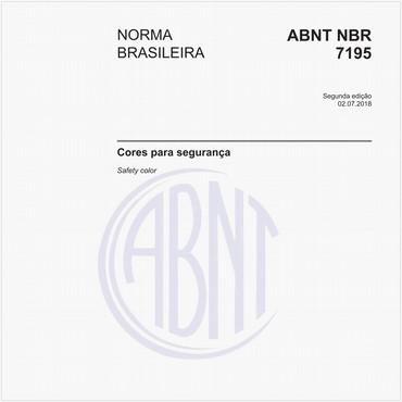 NBR7195 de 07/2018