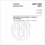 NBR6027