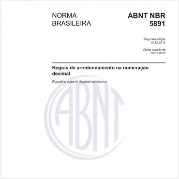 NBR5891 de 12/2014