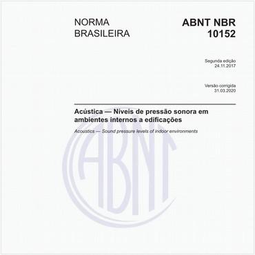 NBR10152 de 11/2017