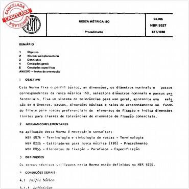 NBR9527 de 09/1986
