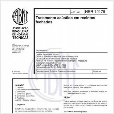 NBR12179 de 04/1992