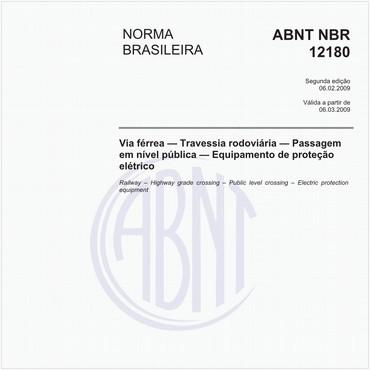 NBR12180 de 02/2009