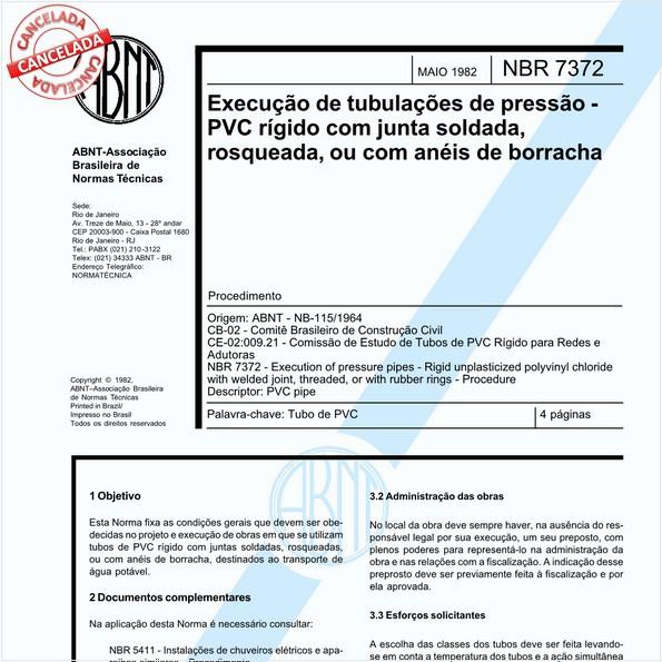 NBR7372 de 05/2018