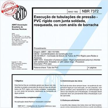 NBR7372 de 05/1982