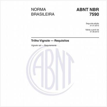 NBR7590 de 07/2012