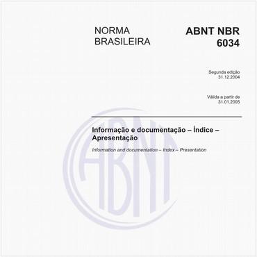 NBR6034 de 12/2004