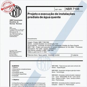 NBR7198 de 09/1993