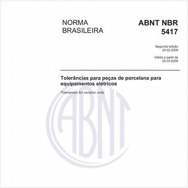 NBR5417 de 02/2009